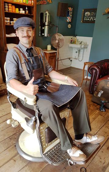 Werkplekaanpassingen maakt zelfs de barbier blij!