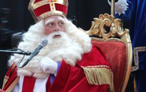 Aangepaste stoel voor Sinterklaas